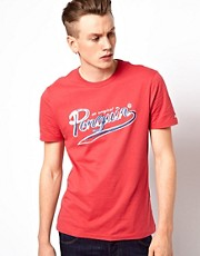Camiseta con logo pintado de Original Penguin