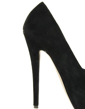 Image 2 ofASOS PUFFIN Suede Platforms
