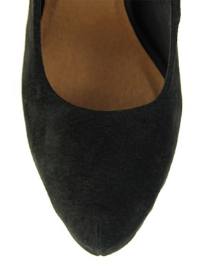 Image 3 ofASOS PUFFIN Suede Platforms