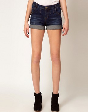 Image 4 ofA Wear Pleat Denim Short