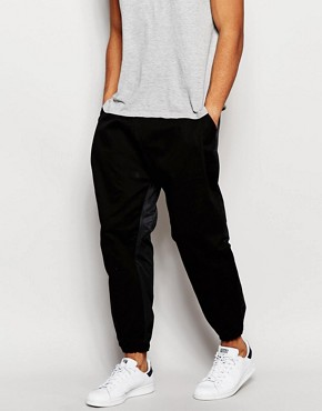 ASOS Drop Crotch Joggers In Crop