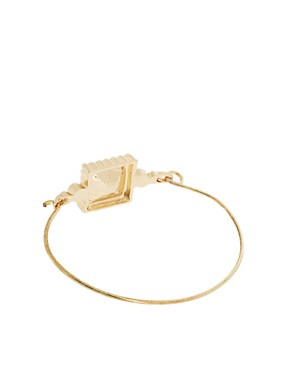 Image 2 ofASOS Stone &amp; Pearl Bangle