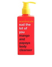 Anatomicals Sud The Lot Of You Natural Mango &amp; Papaya Body Cleanser 300ml