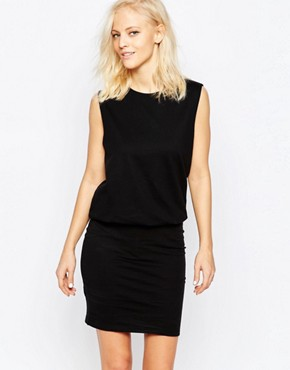 Selected Valdi Sleeveless Dress In Black