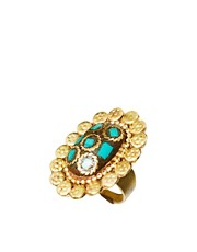 Anillo ovalado vintage de People Tree