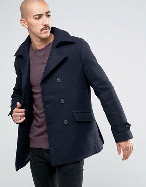 Mens short peacoat jacket - New releases in the fashion world ...
