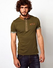 Bellfield Polo Shirt With Contrast Trims