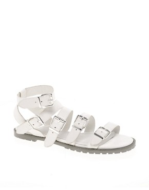 Image 1 ofASOS FEISTY Flat Sandals with Chunky Sole