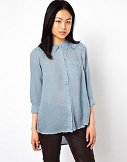 Vero Moda Chambray Denim Shirt
