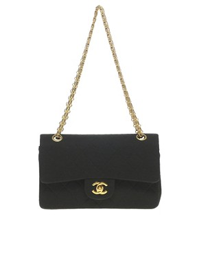 Image 1 ofVintage Chanel Jersey Classic Bag