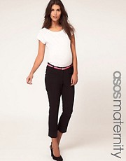 ASOS Maternity Exclusive Pant With Belt