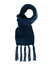 Konrad Scarf Knitted Plain