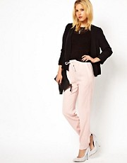 ASOS Trousers with Satin Side Panels
