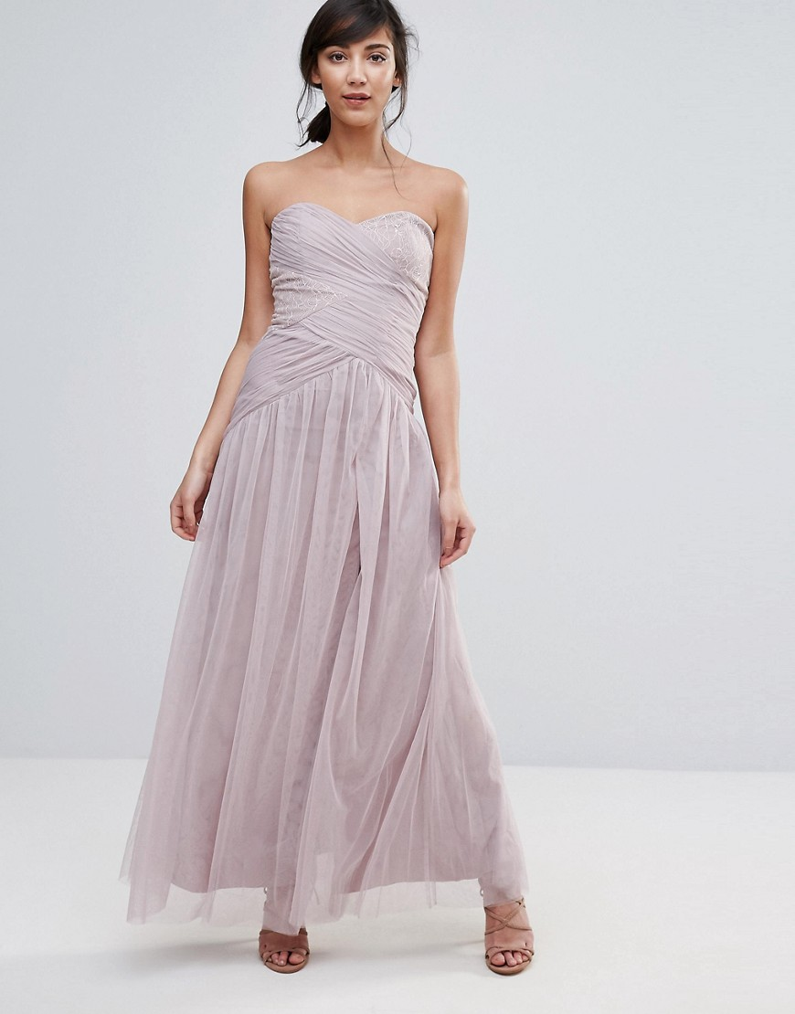 Little Mistress Maxi Dress - Pink