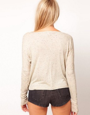Image 2 ofASOS Crop with Long Sleeve in Texture