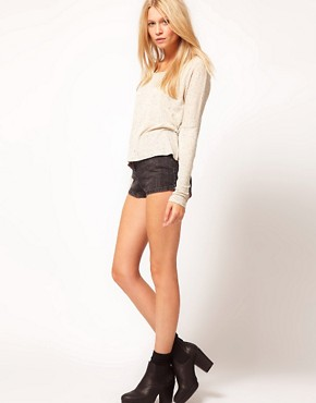 Image 4 ofASOS Crop with Long Sleeve in Texture