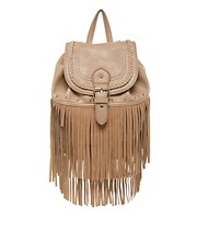 New Look Fringe Back Pack