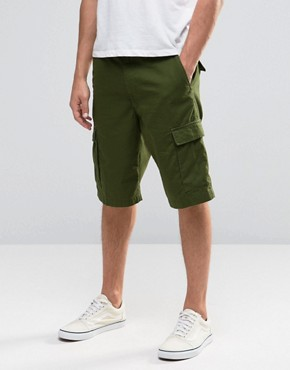 Vans Tremain Shorts In Green VS9W9I8