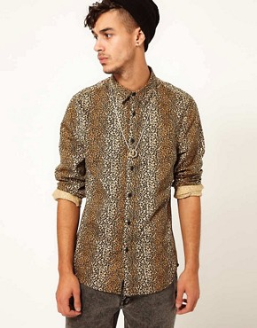 Image 1 ofASOS Leopard Print Shirt