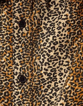 Image 3 ofASOS Leopard Print Shirt