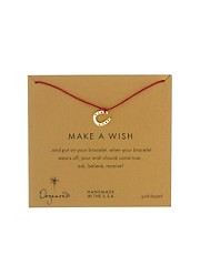 Dogeared Make A Wish Horseshoe Bracelet