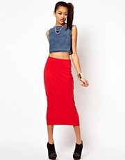 Motel Bobbie Body-Conscious Pencil Skirt