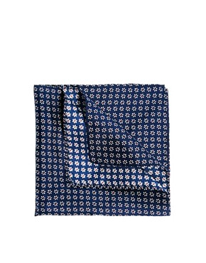 Image 1 ofASOS Floral Pocket Square
