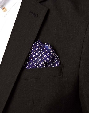 Image 4 of ASOS Floral Pocket Square