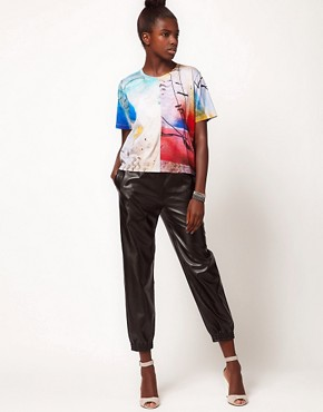 Image 4 ofLulu and Co Barry Regiate Rainbow Graphic Tee