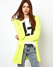 Just Female Neon Cardigan