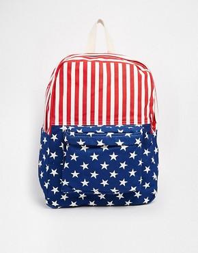 American Apparel American Flag Backpack