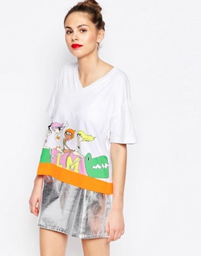 Love Moschino Crocodile T-Shirt