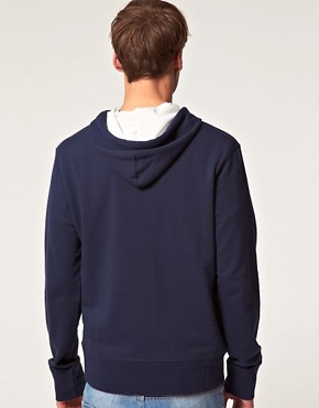 Image 2 ofJack &amp; Jones Intelligence Frankie Hooded Sweatshirt