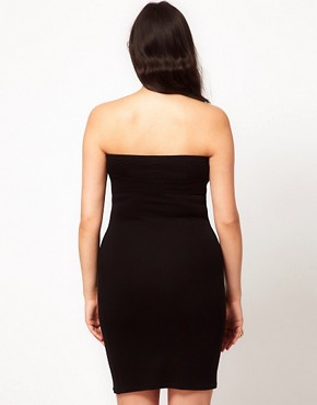 Image 2 ofASOS CURVE Exclusive Bodycon Bandeau Dress