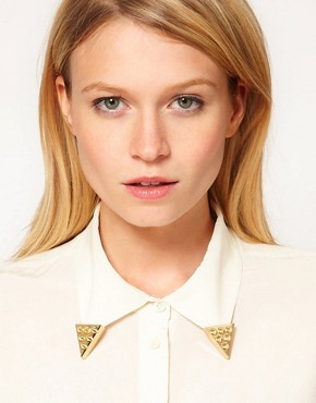 Image 1 ofASOS Spiked Collar Tips