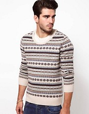 Drykorn Jumper with Fairisle Pattern
