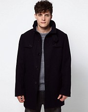 Selected Cave Wool Coat