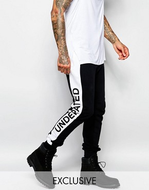 Underated Joggers With Side Logo