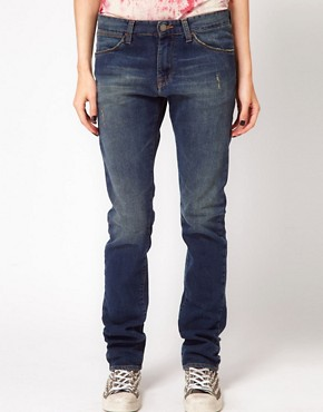 Image 1 ofIRO Distressed Straight Leg Jean