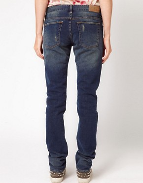 Image 2 ofIRO Distressed Straight Leg Jean