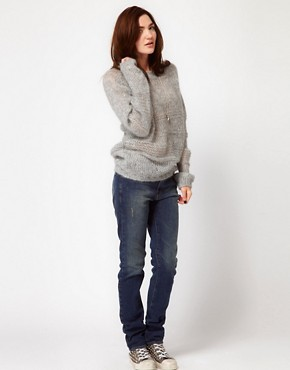 Image 4 ofIRO Distressed Straight Leg Jean