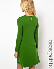 ASOS PETITE Exclusive Knitted Swing Dress