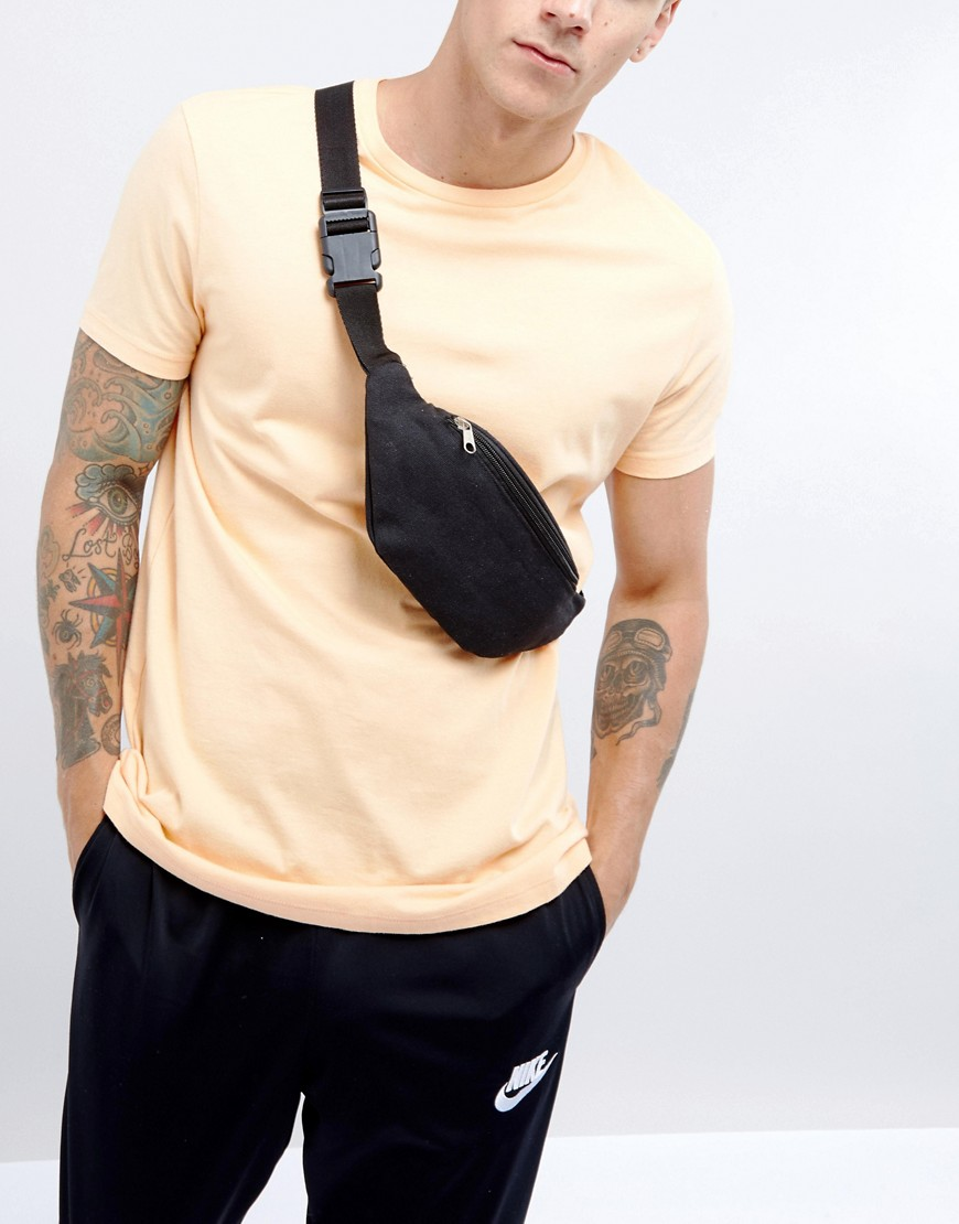 7X Festival Canvas Fanny Pack - Black
