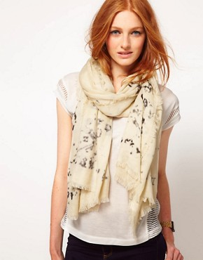 Image 1 ofRiver Island Wordy Long Scarf