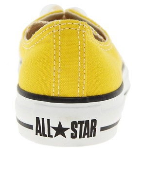 Image 2 ofConverse All Star Yellow Ox Trainers