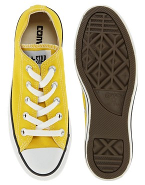 Image 3 ofConverse All Star Yellow Ox Trainers