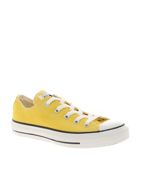 Image 1 ofConverse All Star Yellow Ox Trainers