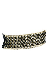 New Look Chunky Chain Stretch Belt
