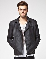 ASOS Leather Biker