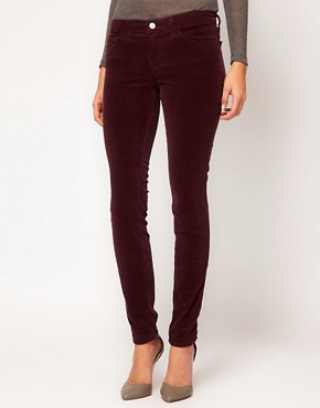 Image 4 ofJ Brand 811 Mid Rise Cord Jean In Lavish